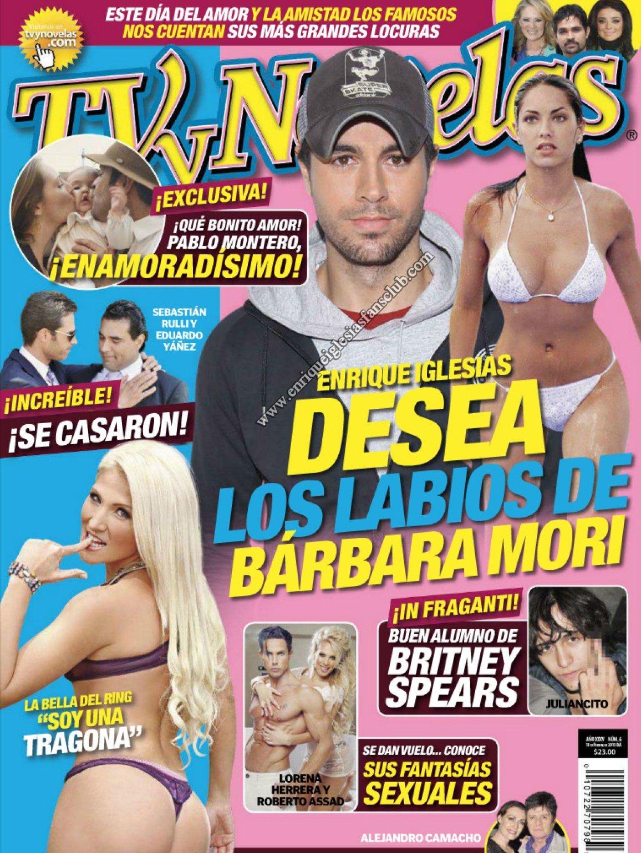 """Enrique Iglesias interview """"Tv y Novelas """" México February 11th 2013 ..."""